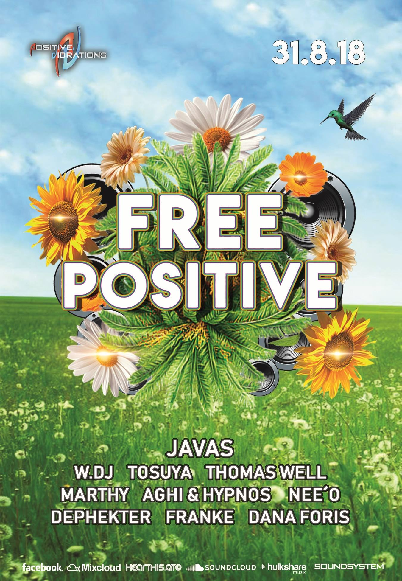 Free Positive